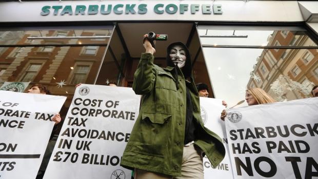 Tax evasion-starbucks